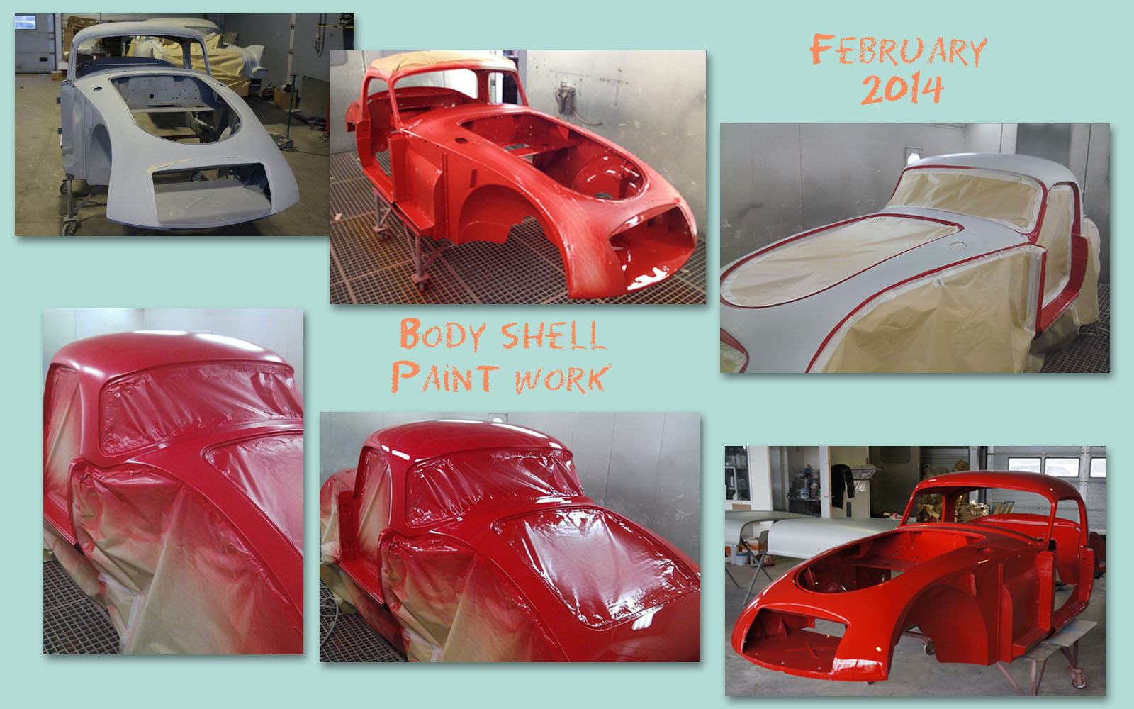 Bodyshell painting